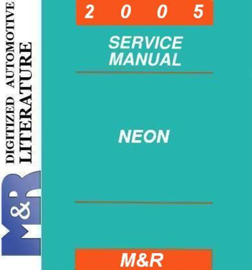 2002 dodge neon owners manual free