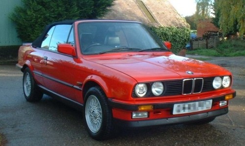 1987 bmw e30 owners manual
