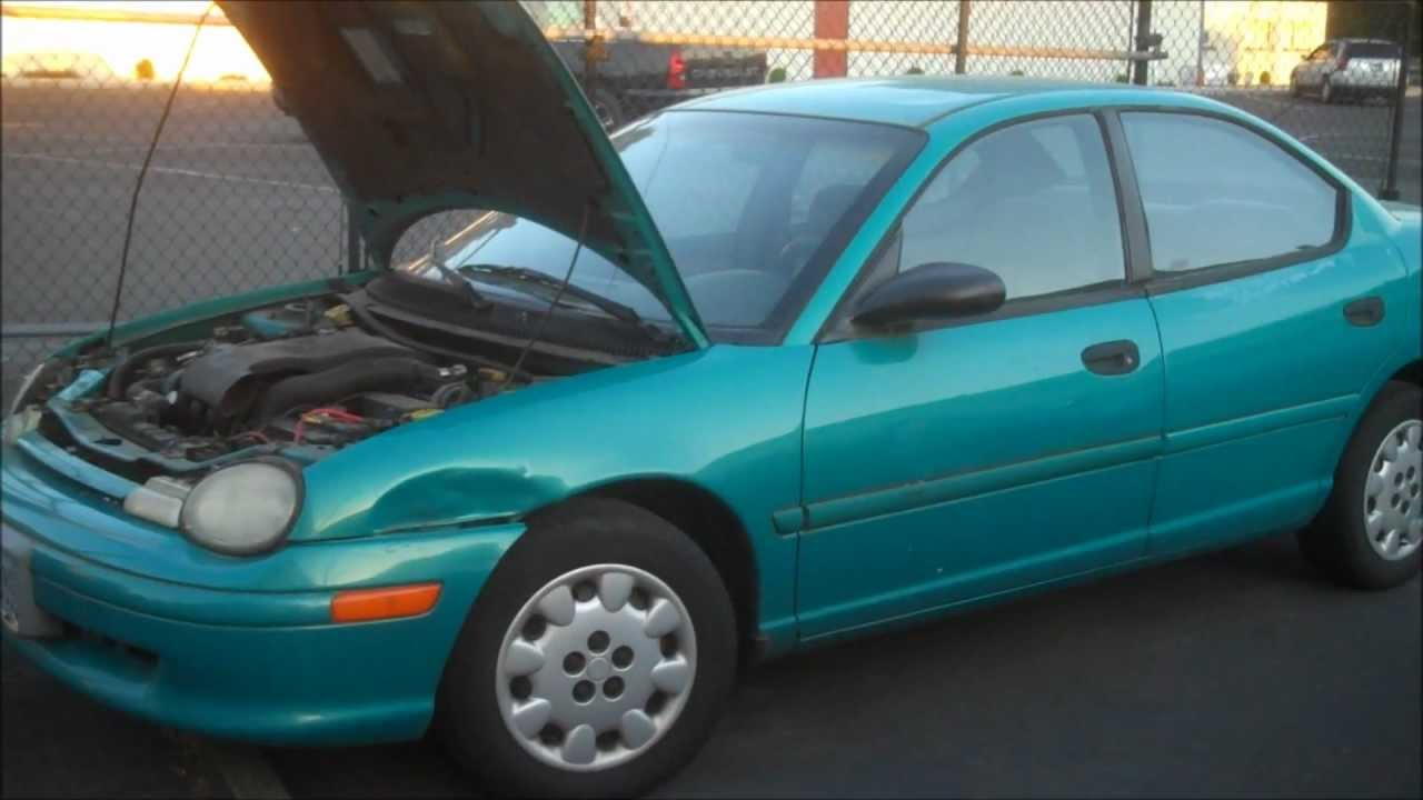 1997 plymouth neon owners manual