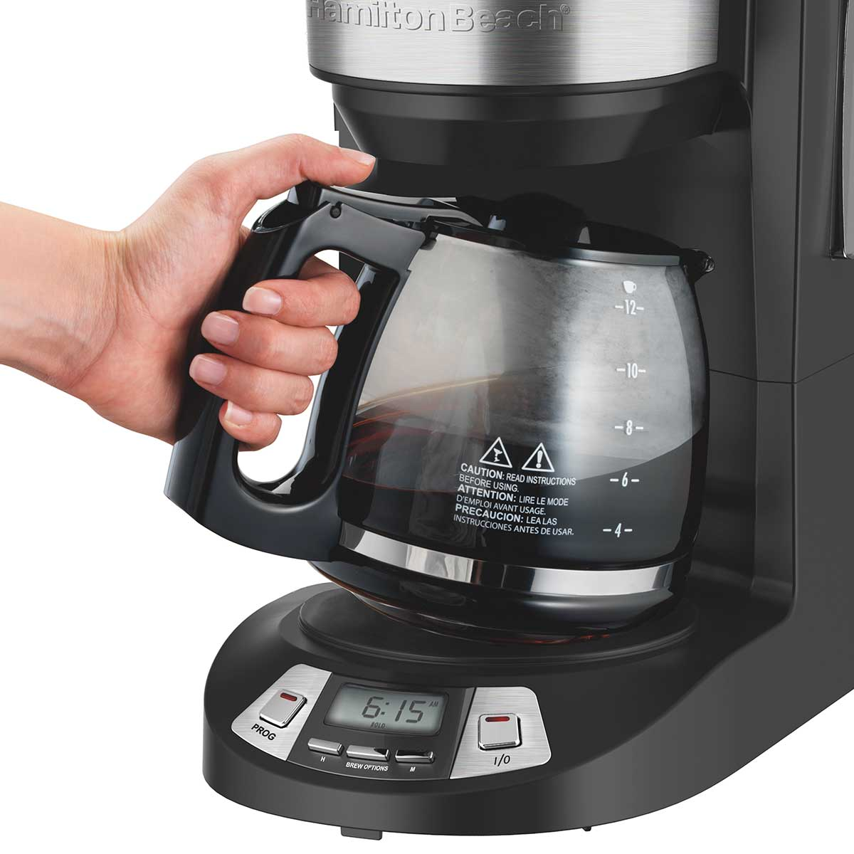 1 2 cup programmable coffee maker manual