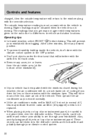 1998 lincoln continental owners manual