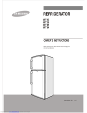 samsung refrigerator rs261mdrs owners manual