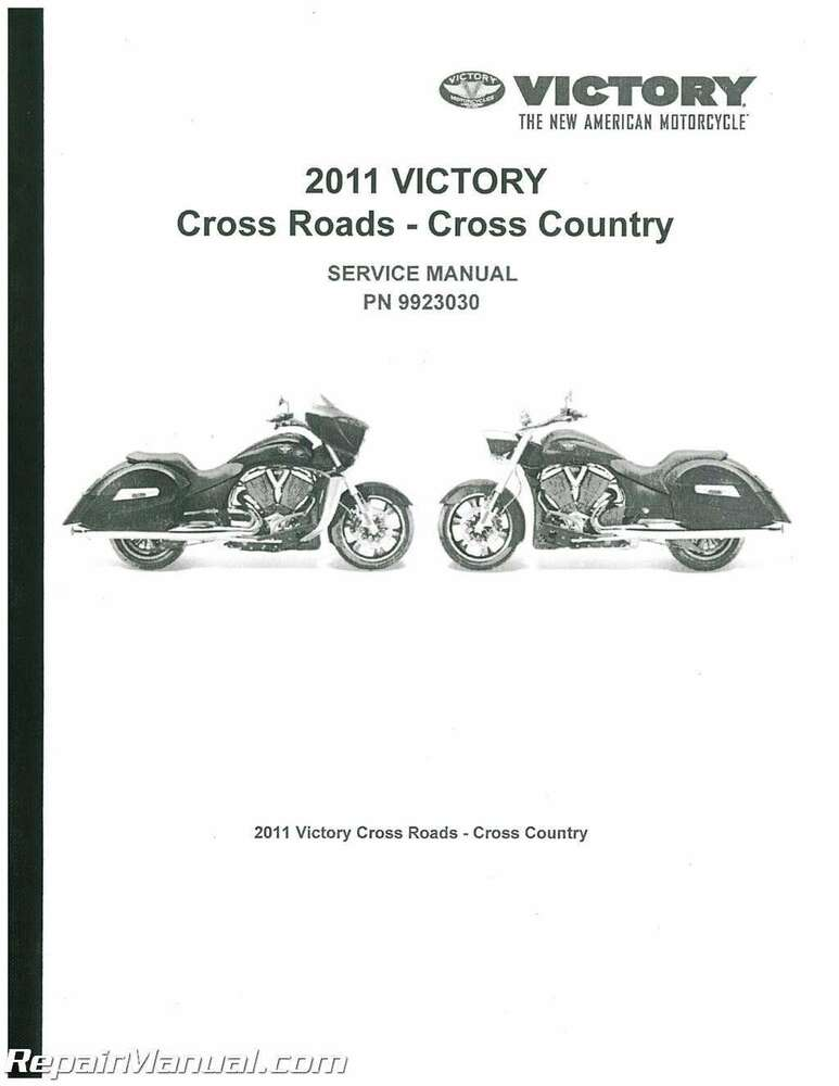 2012 victory cross country service manual