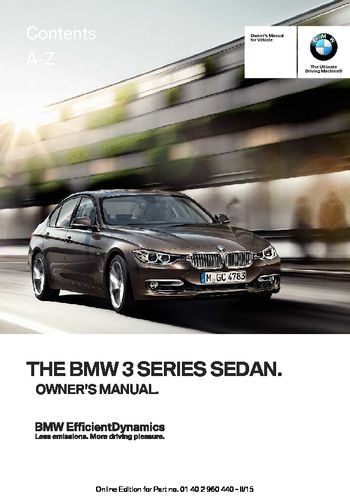 07 bmw 328i owners manual