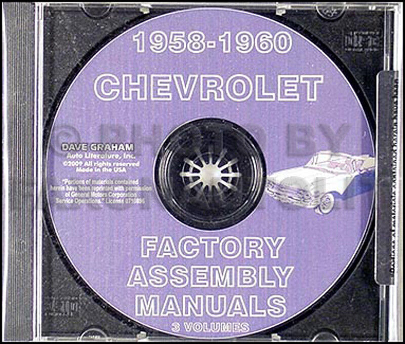 1959 chevy impala owners manual