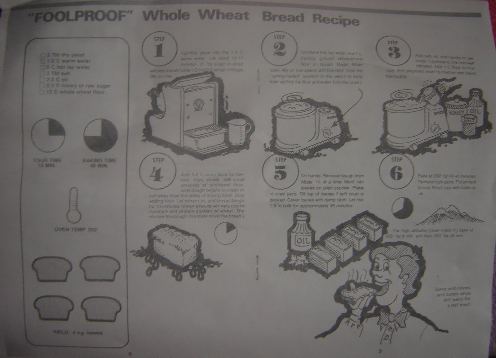 magic mill wheat grinder owners manual