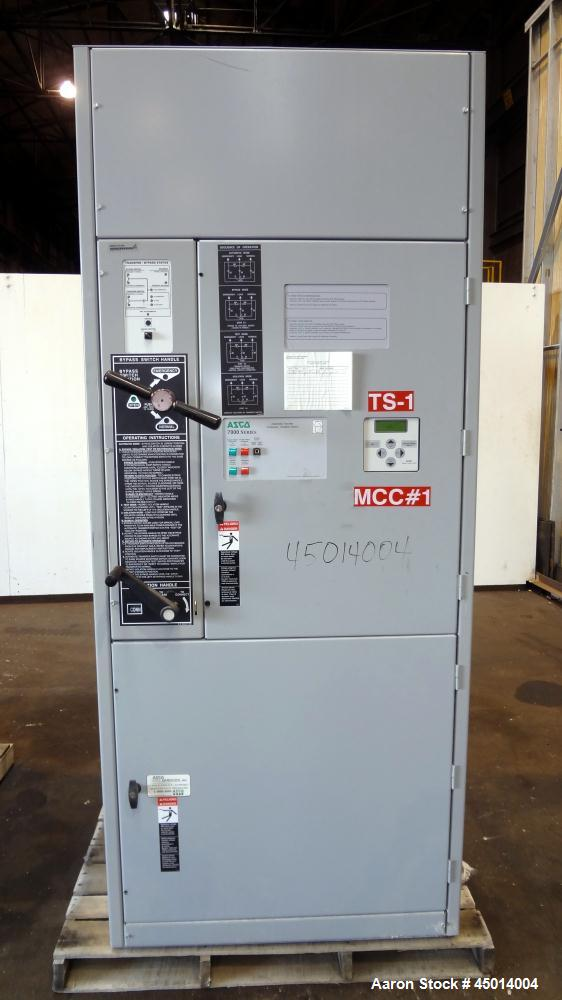 asco 7000 series automatic transfer switch user manual