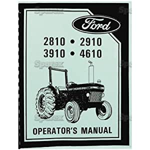 ford 4610 tractor service manual
